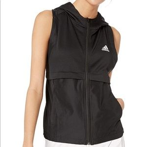 NWT Adidas Hooded Vest